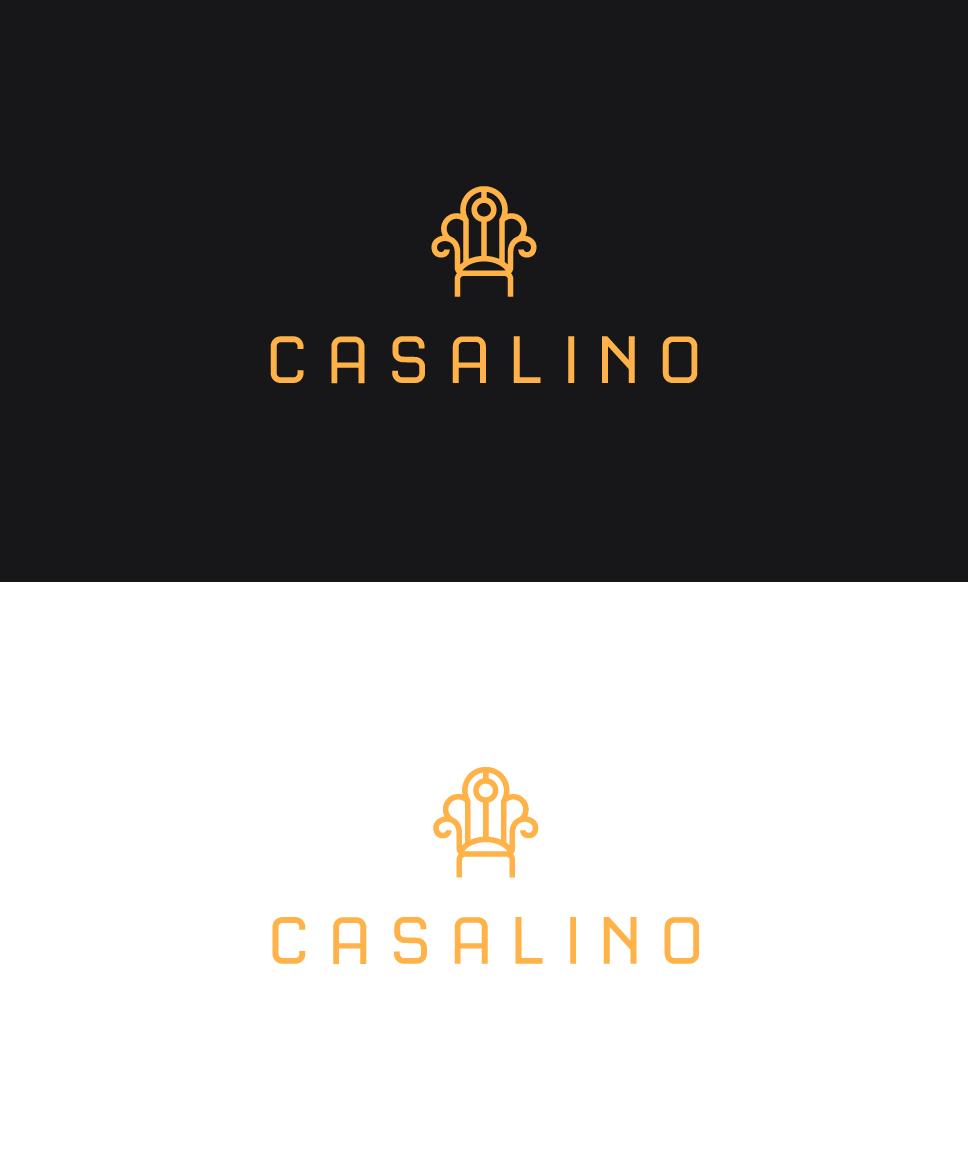 Furniture logo design png - Casalino Logo Design