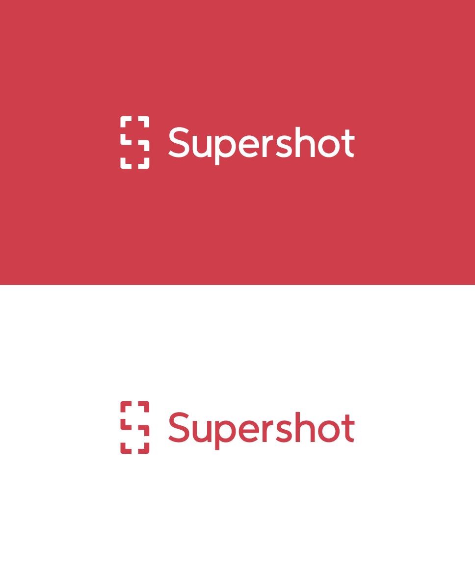 Clever logo, professional logo, flat logo. ios app logo, mobile app logo. S, phone and screenshot. Symbolise sharing photography, photo, s.