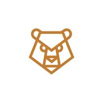 Angry Bear logo design