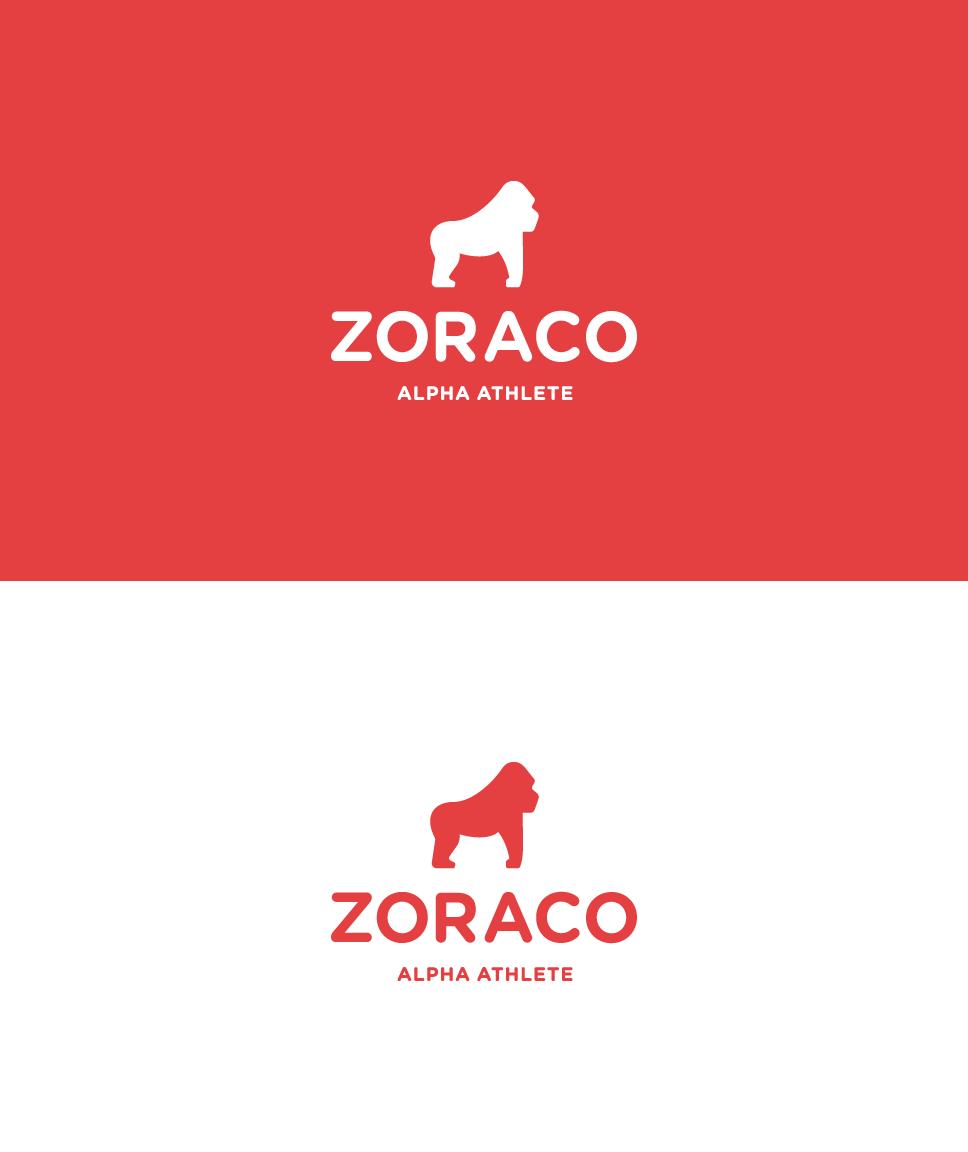 professional, iconic sport logo design. Gorila flat mascot. Gorilla logo. Monkey logo