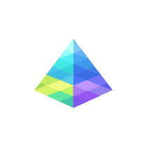 prism, modern logo for web design and seo company
