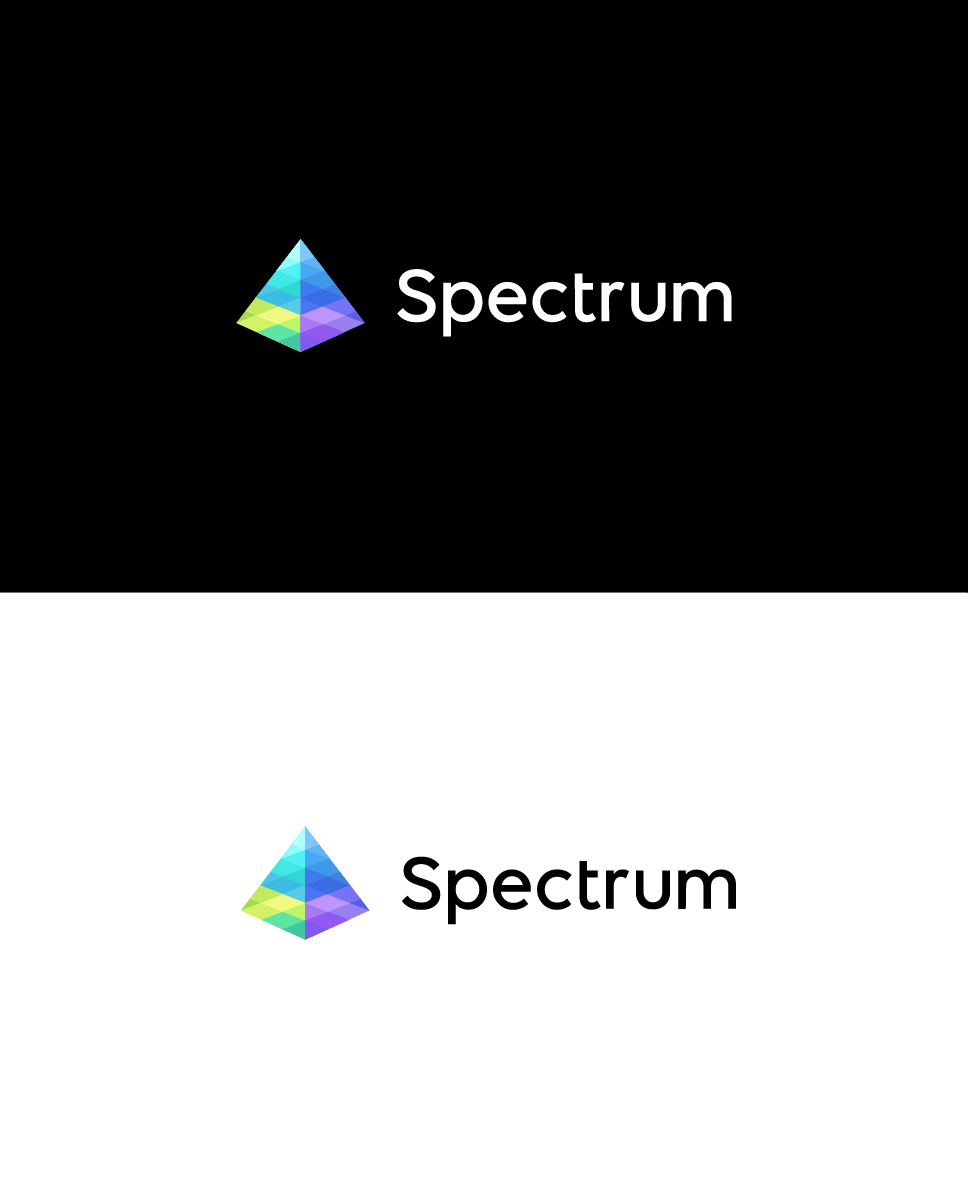 prism, modern logo for seo company